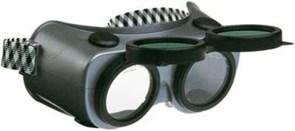Очки газосварщика с откидными стеклами А018-1