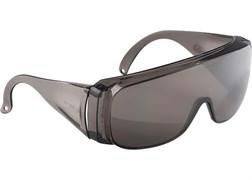 Очки защитные открытого типа, затемненные, ударопрочные, поликарбонат, бок и верх защита СИБЕРТЕХ
