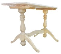 Ножка для стола 3-х опорная сосна Н=800