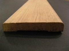 Наличник твердолиственница Дубовый стычной 75*12 АС (1сорт)