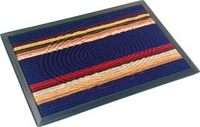 Коврик придверный Vortex-22384 COMFORT 40х60см, синий