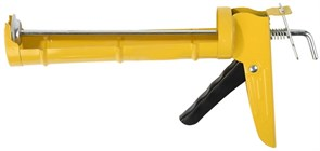 Пистолет STAYER Стандарт полукорпусной для герметиков 310 мл. гладкий шток