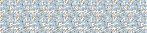 ПАННО ПВХ Синие цветы 0,6мм