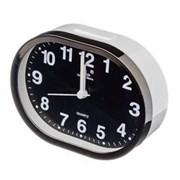 Часы будильник 13*10см электронный овальный 1*АА/529-062/