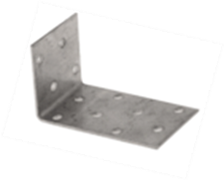 Крепежный уголок оцинк.анкерн. 80*200*40*2 мм