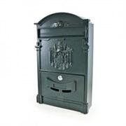 Ящик почтовый №4010 темно-зеленый (4)