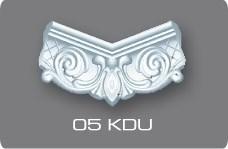 Плинтус потолочный  07505КD Германия/Угловой элемент 05КDU
