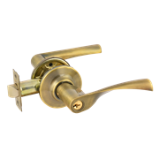 НМ ЗВ2-01-Э (Старая Бронза) защелка м/к (ключ/фиксатор)