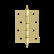 """НМ Петля универсальная сталь 4""""-4ВВ FНР с колпачком (Латунное покрытие) размер: 100x75x2,5"""