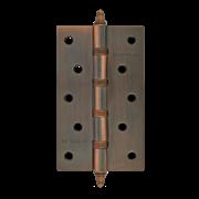 """НМ Петля универсальная сталь 5""""-4ВВ с колпачком (Медное покрытие) размер: 125x75x2,5"""