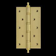 """НМ Петля универсальная сталь 5""""-4ВВ с колпачком (Латунное покрытие) размер: 125x75x2,5"""