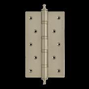 """НМ Петля универсальная сталь 5""""-4ВВ с колпачком (xромовое покрытие) размер: 125x75x2,5"""