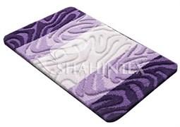 Коврик PP MIX 4K 50*80см фиолетовый-61