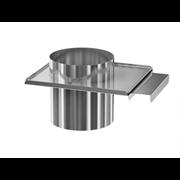 Задвижка ( шибер нержавеющая сталь 0.5мм) диаметр 100
