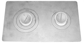 Плита 2 конфорки П2-3 (Рубцовск) ( 660*410)