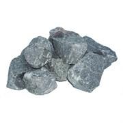 Камни Габбро-Диабаз для банных печей, колотые, в коробке по 20 кг