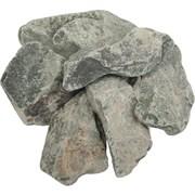 Камни Габбро-Диабаз для банных печей, обвалованный, в коробке по 20 кг