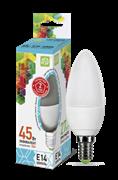Лампа светодиодная ASD Свеча С37 Е14  5 W (400lm) 4000К пластик/алюм standart