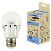 Лампа светодиодная Народная НЛ-LED-А60 5Вт 6000К Е27 (60*105)