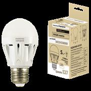 Лампа светодиодная Народная НЛ-LED-А60-5Вт-230 В-4000 К Е27 (58*109)