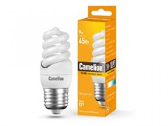 Энергосберегающая лампа Camelion LH FS T2 M 9Вт/827/E27 220Вт Теплый свет
