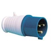 Электрическая вилка кабельная 16А 2Р+Е 16А 220В IP44 ИЭК (013)