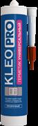 Герметик силиконовый универсальный прозрачный 280 мл KLEO