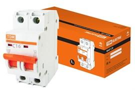 Автоматический выключатель ВА 47-29  2Р 16А 4.5кА характеристика С ТДМ