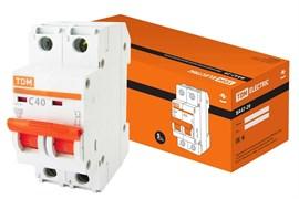 Автоматический выключатель ВА 47-29  2Р 40А 4.5кА характеристика С ТДМ