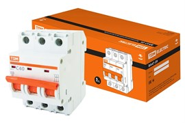 Автоматический выключатель ВА 47-29  3Р 40А 4.5кА характеристика С ТДМ