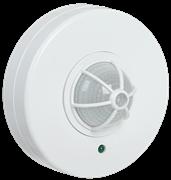 Детектор движения ДД 024 1100Вт угол обзора 360 градусов IP33 белый ИЭК LDD11-024-1100-001