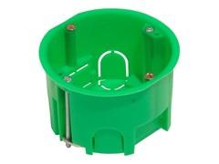 Коробка установочная СП 68*45 для г/к металлическими лапками HEGEL КУ1202