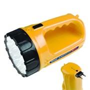 Фонарь Uniel ручной S-RB011-BA (акк.4 V 0.5Ah) 1 светодиод 0,5W жёлтый/пластик вилка 220V