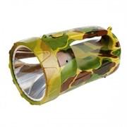 Фонарь Облик прожектор 8308 камуфляж/пластик, 1 светодиод (акк.4V 1,2Ah)