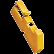 Изолятор DIN желтый ИЭК YIS21