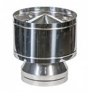 Дефлектор нержавеющая сталь диаметр 115х200