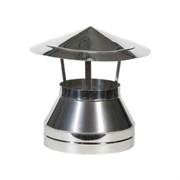 Оголовок нержавеющая сталь  диаметр 200*115  (AISI 430/0.5мм)