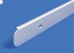 Планка длястолешниц торцевая алюминиевая 1518 R9 28 мм
