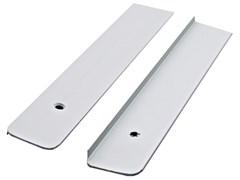 Планка для столешниц торцевая алюминиевая 1518 R9У 28 мм универсальная