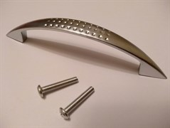 Ручка РК мебельная ЛЮКС 3059 хром (D111)