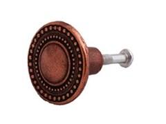 Ручка-кнопка ШП-122 (525) гальваника (128-043)