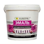 Эмаль для радиаторов белая  0.9 кг. ЛАКРА