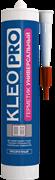 Герметик силиконовый универсальный белый 280 мл KLEO