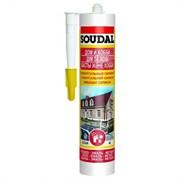 Герметик силиконовый универсальный белый 300 мл Soudal
