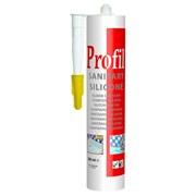 Герметик силиконовый санитарный прозрачный 280 мл Soudal Profil
