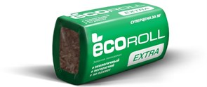 Утеплитель минеральная вата КНАУФ ECOROLL 50x610x1230мм, 16 шт. в упаковке (12 м2/0.6 куб.м)