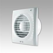 Вентилятор осевой накладной ERA S ET-02 осевой с антимоскитной сеткой, тяговым выключателем и электронным таймером.