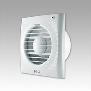Вентилятор осевой накладной ERA 6С укомплектованный обратным клапаном