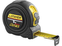 "Рулетка STAYER ""PROFI"" "" AREX"" упрочненное полотно 5м*25мм - фото 10469"
