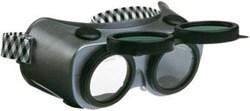 Очки газосварщика с откидными стеклами А018-1 - фото 11794